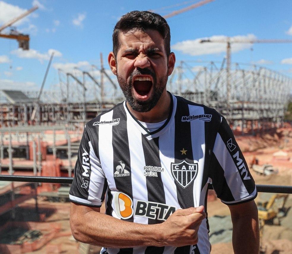 Diego Costa também priorizava o Palmeiras. Acabou no Atlético Mineiro