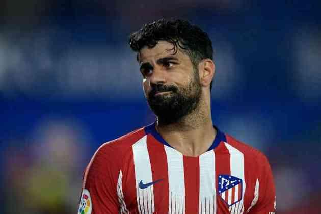 Diego Costa - 32 anos - Atacante - Último clube: Atlético de Madrid - Sem clube desde: 01/01/2021