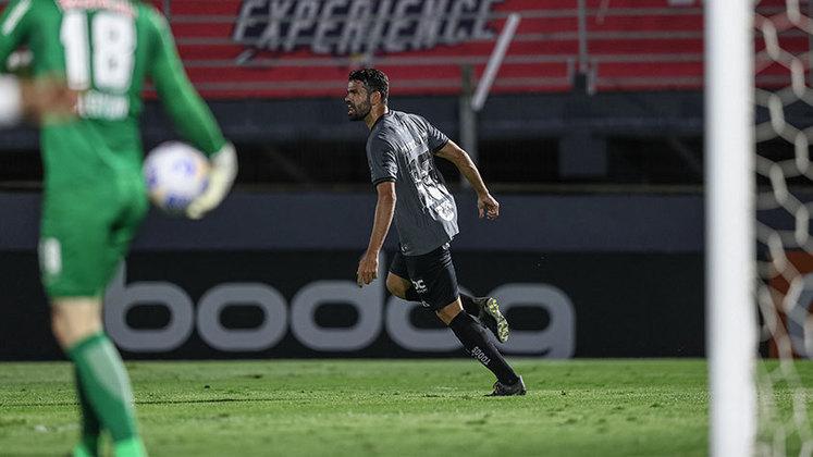 Diego Costa - Atacante - Atlético-MG - Valor segundo o Transfermarkt: 6 milhões de euros (aproximadamente R$ 37,62 milhões)