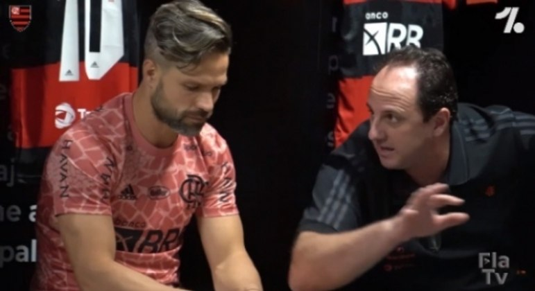 Diego e Rogério Ceni - Flamengo