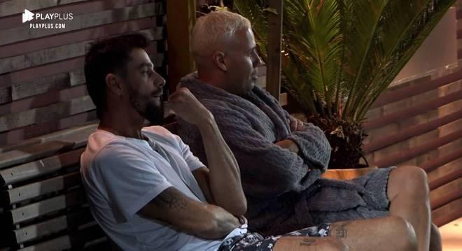 Diego e Viny conversaram sobre as pessoas fortes no jogo