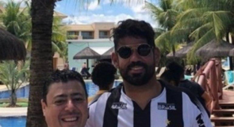 Diego já tinha vestido a camisa do Galo em 2019 e dois anos depois virou jogador do time mineiro