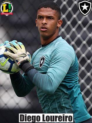 Diego Loureiro - 6,5 - Foi o melhor em campo pelo Botafogo. Salvou o time de uma derrota com grandes defesas.