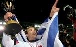 Diego Lugano - Zagueiro (11/05/2003 - 03/12/2017) - Campeão Mundial Interclubes FIFA: 2005, Campeão da Taça Libertadores da América: 2005, Campeão Brasileiro: 2006 e Campeão Paulista: 2005
