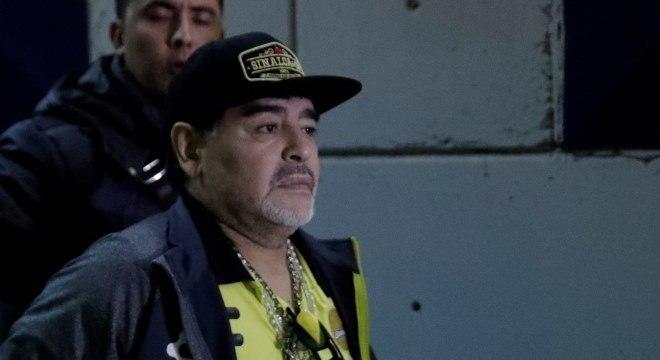 Diego Maradona, de 58 anos, volta para treinar time da segunda divisão mexicana
