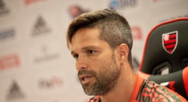 Diego Ribas - Coletiva de Imprensa (Flamengo)