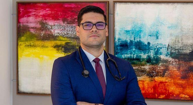 Diego Simões é cirurgião torácico