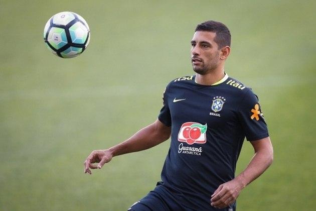 Diego Souza: fez parte e atuou pela Seleção em 2008, pelas Eliminatórias.