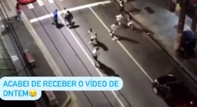 Diego Tardelli recebeu imagens da emboscada que sofreu na última terça