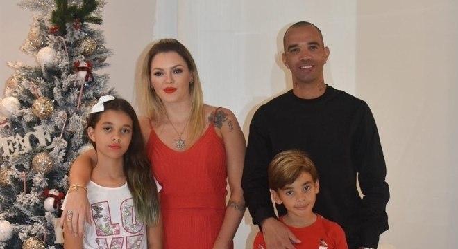 Diego Tardelli está no Brasil para passar as festas de fim de ano