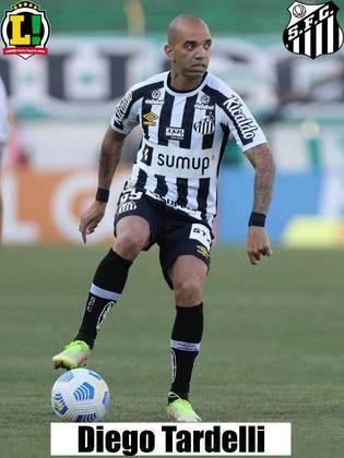 Diego Tardelli – Sem nota – Pouco tempo em campo.
