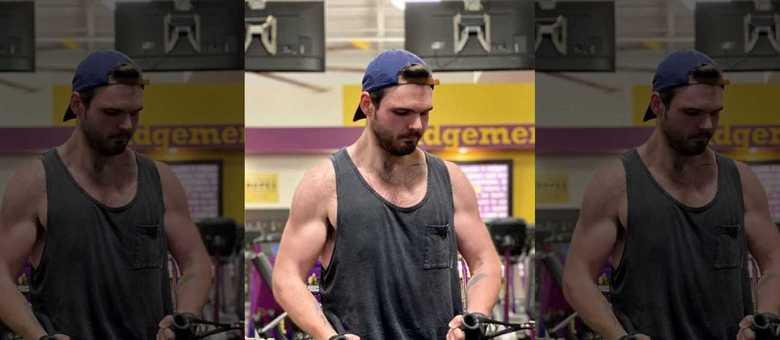 Dylan só entrou na academia depois de perder peso