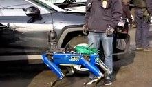 Polícia de Nova York usa robô de quatro pernas para buscar refém
