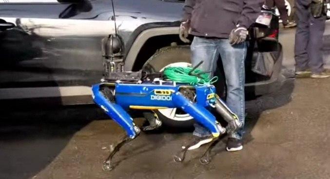 Robô pode alcançar até 5,6 km/h