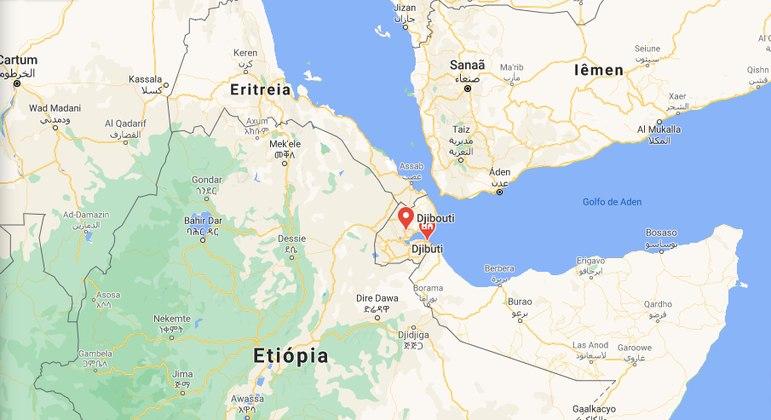 País é situado no nordeste da África