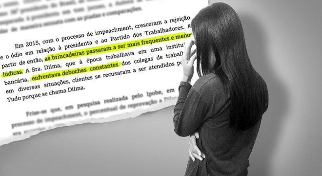 Dilma P., de 37 anos, pede mudança de seu nome de batismo pelas chacotas