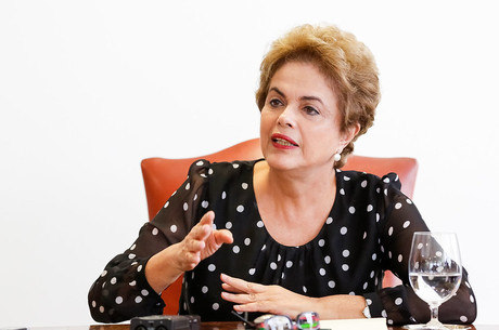A ex-presidente Dila Rousseff