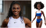 Ainda nas modalidades individuais, a velocista britânica Dina Asher-Smith é a mais veloz do país