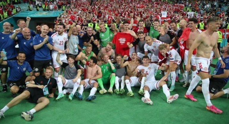 A Dinamarca, em busca do segundo troféu