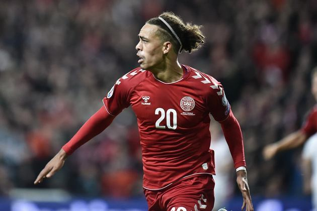 Dinamarca: Yussuf Poulsen (RB Leipzig). Temporada 2020/21: 52 jogos e 12 gols