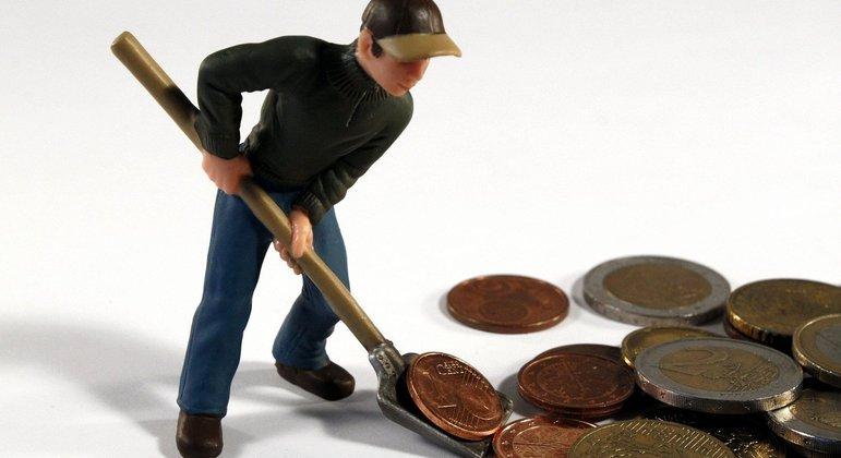 Mãe mostrou para filha que não existe dinheiro sem esforço