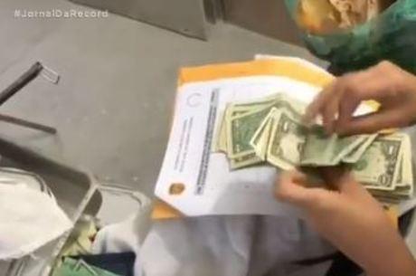 Dinheiro apreendido na Operação Pequim