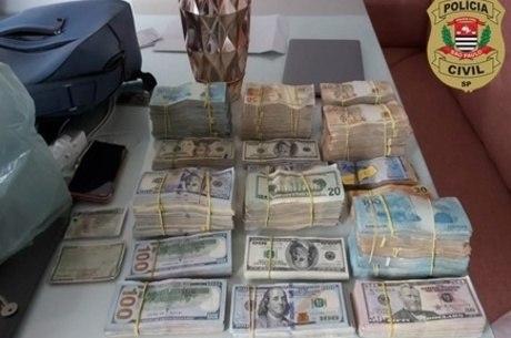 Operação apreendeu cerca de R$ 2 milhões