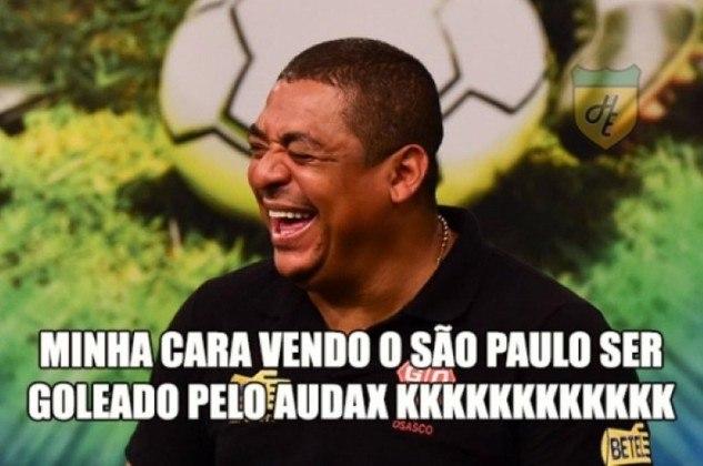 Diniz do outro lado: comandado pelo atual técnico do São Paulo, o Audax venceu por 4 a 1 e eliminou o Tricolor nas quartas de final do Paulistão 2016.