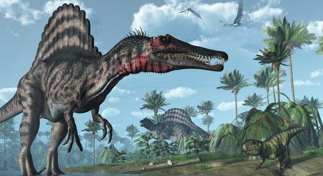 A onda gigante pode ter sido parte da causa da extinção dos dinossauros
