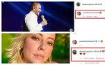Desde então, foram vários os elogios e troca de declarações nas postagens feitas nas redes sociais, para a alegria dos fãs que torcem para o casal