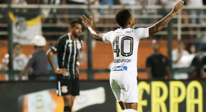 Santos merecia vencer a partida. Pelo menos Diogo Vitor evitou o pior