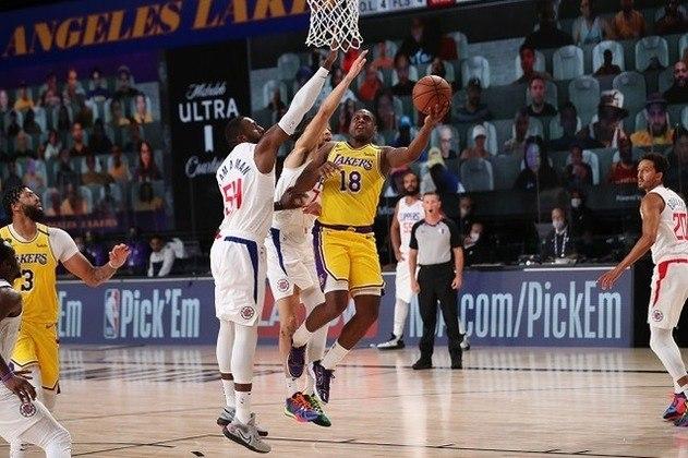 Dion Waiters (Los Angeles Lakers) fez apenas o seu quarto jogo na temporada, o primeiro pela equipe californiana. Ele passou os últimos três anos no Miami Heat. Waiters contribuiu saindo do banco de reservas e somou 11 pontos em 21 minutos de ação, mas pecou nas cestas de três: apenas um acerto em seis tentativas