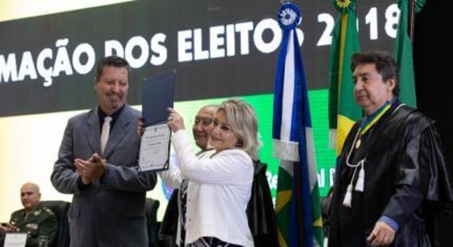 Diplomação dos eleitos no TRE, Selma Arruda, Márcio Vidal