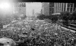 Em 1984, local foi palco do maior comício do movimento Diretas Já,que reivindicou eleições presidenciais diretas após o período de ditadura militar no país