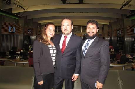 Na Record, Juliana Perussi, Mário Perussi e Zacarias Pagnanelli