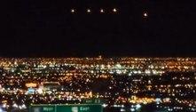Discos iluminados sobre Las Vegas geram teoria sobre óvni gigante