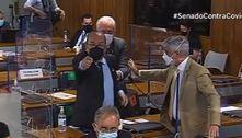 CPI tem bate-boca entre relator e senador da base do governo