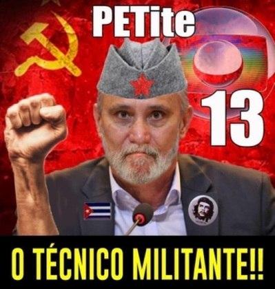 Discussão em torno da realização da competição no Brasil e postura adotada por Tite e jogadores da Seleção nos últimos dias, fez com que internautas fizessem alusão à União Soviética e ao comunismo. Confira na galeria! (Por Humor Esportivo)
