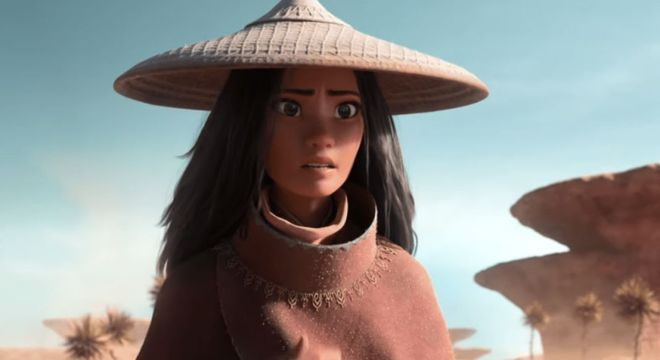 Raya também fará parte do grupo de princesas da Disney