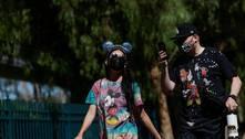 Disneyeoutrosparques nosEUA mudam regrassobre máscaras