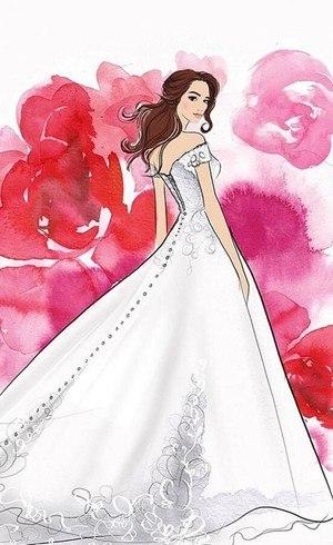 Modelo inspirado na princesa Bela