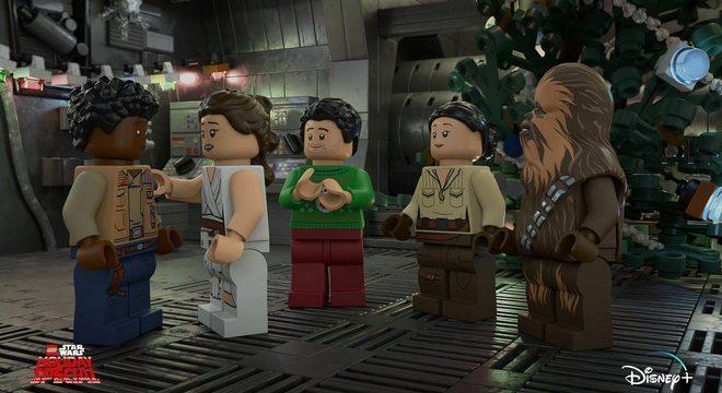 Disney exibirá especial 'Star Wars' com Legos