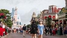 Disney de Paris reabre, mas sem abraços do Mickey Mouse