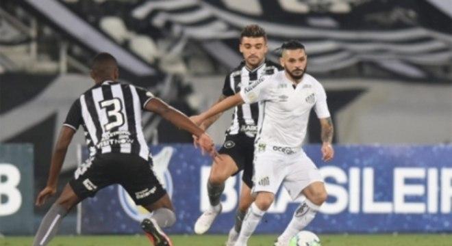 Disputa - Botafogo x Santos