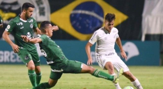 Disputa - Goiás x Santos
