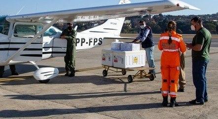 Vacinas começaram a ser distribuídas em Minas