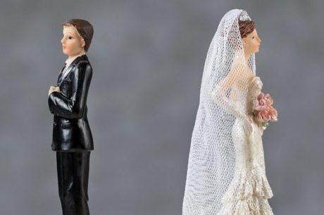 Um em cada três casamentos acaba em divórcio