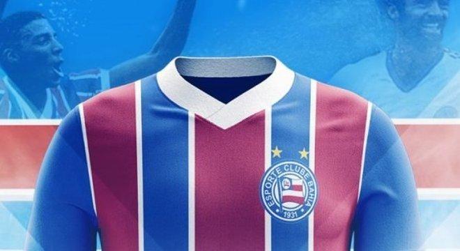 A Comissão Julgadora do clube selecionou 4 layouts de cada categoria de uniforme