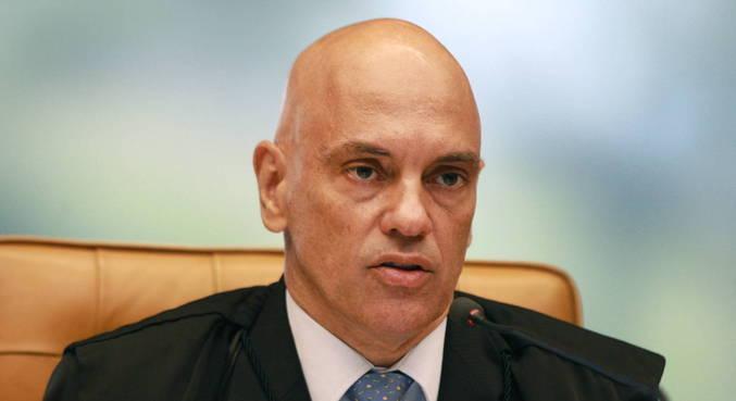 O ministro Alexandre de Moraes, do STF,  que determinou retomada de inquérito