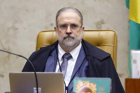 Na imagem, o procurador-geral Augusto Aras
